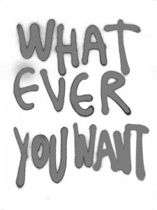 Whateveryouwant